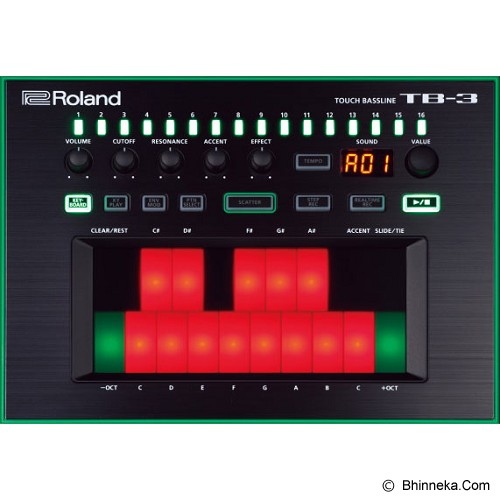 ROLAND Bass Synthesizer Touch Bassline [TB-3] - Audio Synthesizer